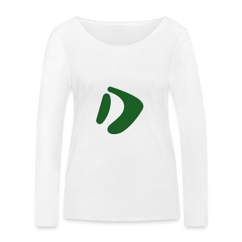 Logo D Green DomesSport - Frauen Bio-Langarmshirt von Stanley & Stella