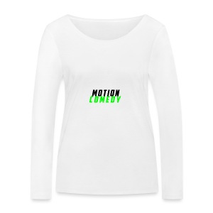 MotionComedy Official - Women's Organic Longsleeve Shirt by Stanley & Stella