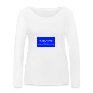 Hard Drive Deleted Notice - Women's Organic Longsleeve Shirt by Stanley & Stella