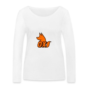Fox~ Design - Women's Organic Longsleeve Shirt by Stanley & Stella