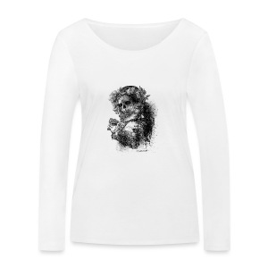 Baby Skull - T-shirt manches longues bio Stanley & Stella Femme