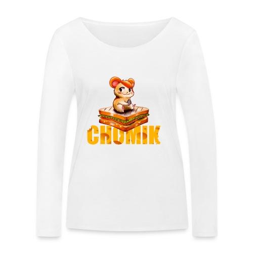 Chomik - Ekologiczna koszulka damska z długim rękawem Stanley & Stella