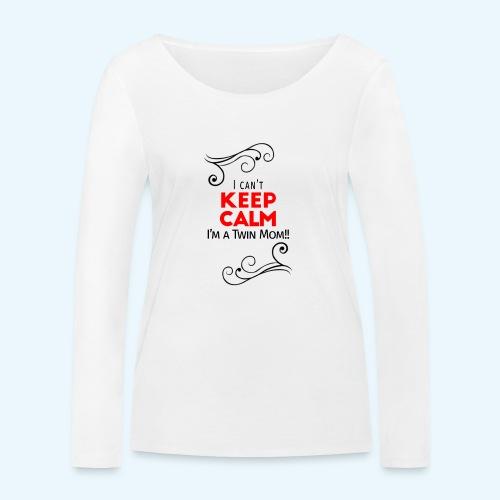 I Can't Keep Calm (voor lichte stof) - Vrouwen bio shirt met lange mouwen van Stanley & Stella