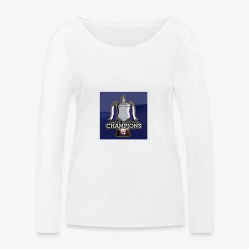 MFC Champions 2017/18 - Women's Organic Longsleeve Shirt by Stanley & Stella
