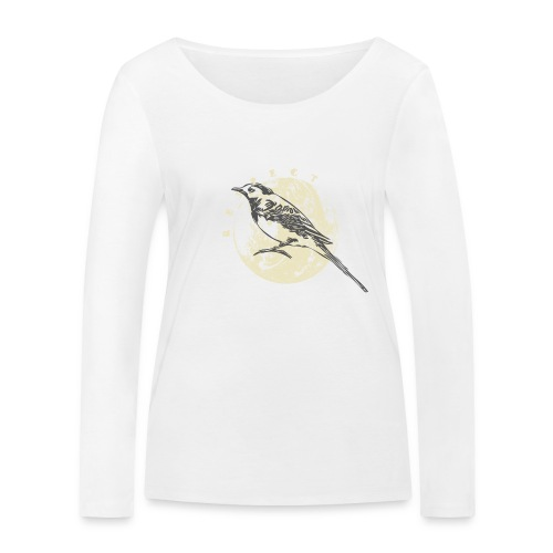 Respect bergeronnette - T-shirt manches longues bio Stanley & Stella Femme