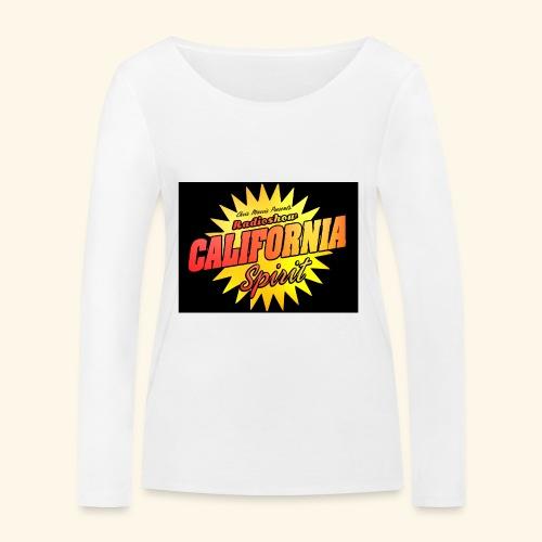 California Spirit Radioshow Vintage - T-shirt manches longues bio Stanley & Stella Femme
