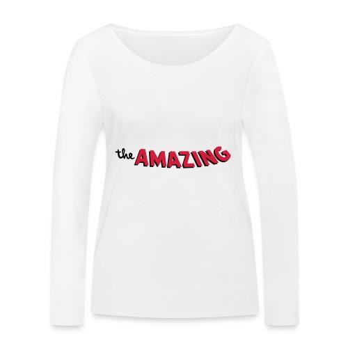 Amazing - Vrouwen bio shirt met lange mouwen van Stanley & Stella