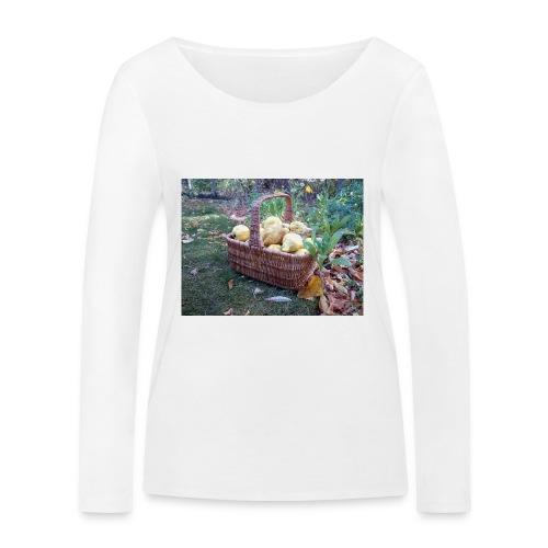 Quitten-Korb - Frauen Bio-Langarmshirt von Stanley & Stella