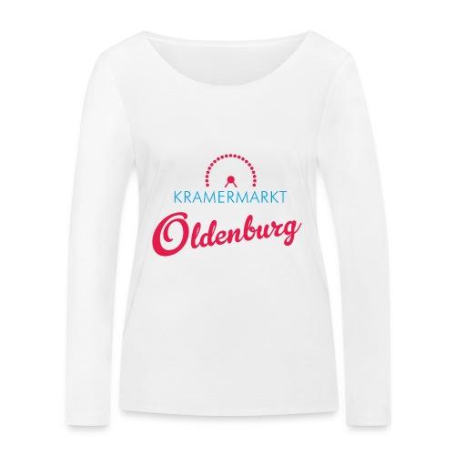 Kramermarkt Oldenburg - Frauen Bio-Langarmshirt von Stanley & Stella