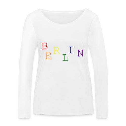 Berlin Rainbow #1 - Frauen Bio-Langarmshirt von Stanley & Stella