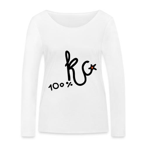 100%KC - Vrouwen bio shirt met lange mouwen van Stanley & Stella