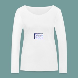 MY SUPERPOWER IS ANXIETY - Women's Organic Longsleeve Shirt by Stanley & Stella