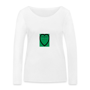 Ireland always in my heart - Women's Organic Longsleeve Shirt by Stanley & Stella