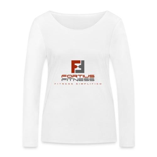 Fortius Fitness - Økologisk Stanley & Stella langærmet T-shirt til damer