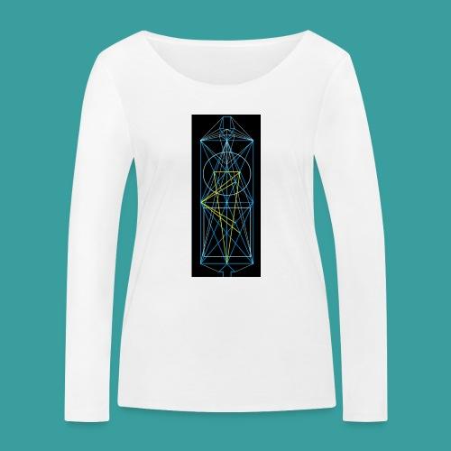 simmetria intelletuale - Maglietta a manica lunga ecologica da donna di Stanley & Stella