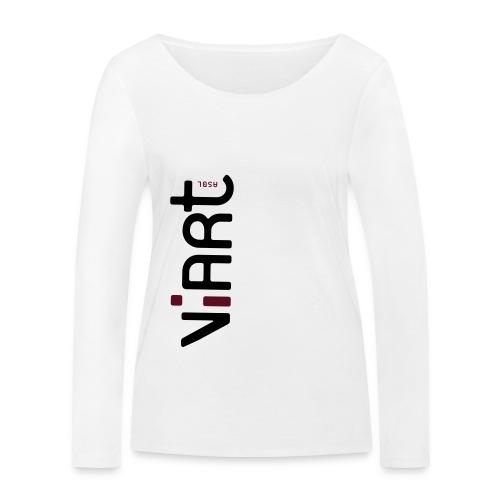ViArt asbl Logo - Frauen Bio-Langarmshirt von Stanley & Stella