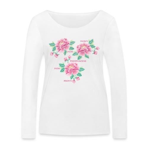 Peony - Dam - Women's Organic Longsleeve Shirt by Stanley & Stella