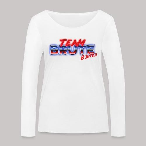 Team BRUTE Red - Women's Organic Longsleeve Shirt by Stanley & Stella