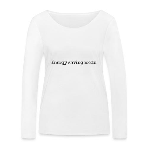 energy - T-shirt manches longues bio Stanley & Stella Femme