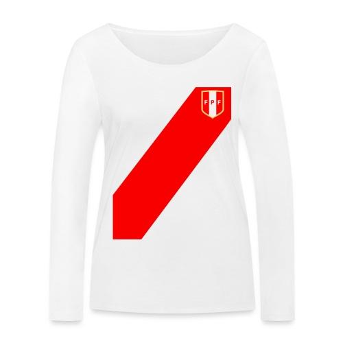 Seleccion peruana de futbol - Frauen Bio-Langarmshirt von Stanley & Stella