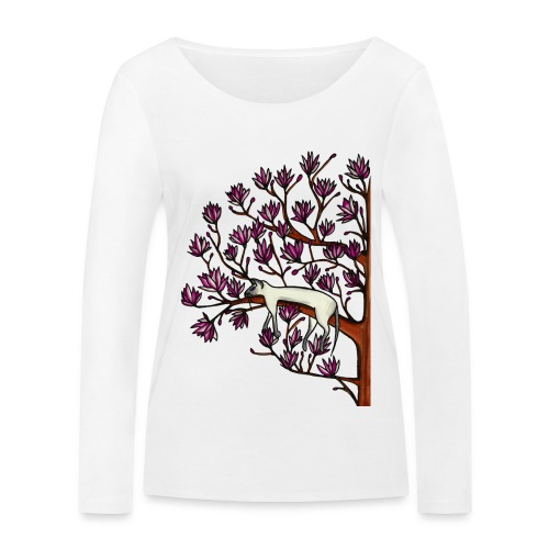 Magnolia - Ekologisk långärmad T-shirt dam från Stanley & Stella
