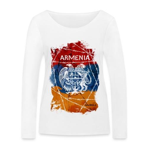 Armenia - Frauen Bio-Langarmshirt von Stanley & Stella