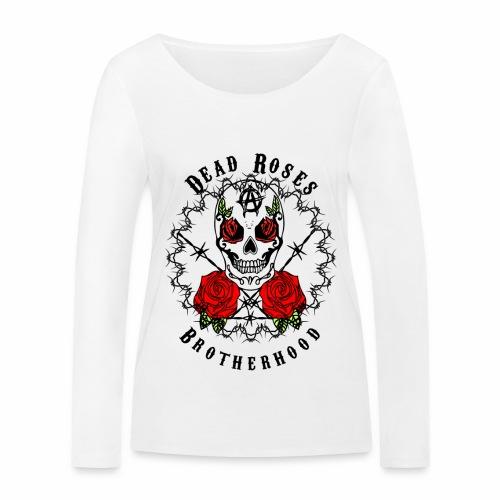 Dead Roses 2nd Logo - Women's Organic Longsleeve Shirt by Stanley & Stella