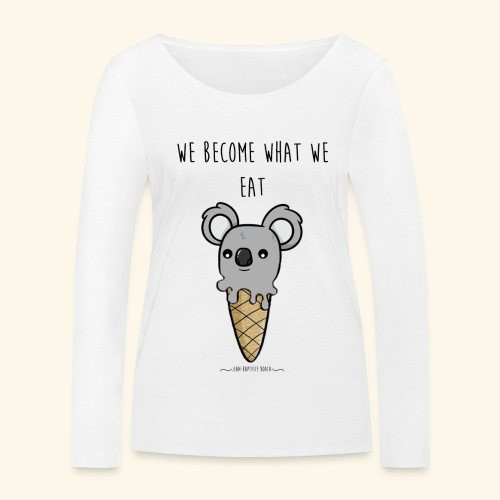 ice cream koala - T-shirt manches longues bio Stanley & Stella Femme
