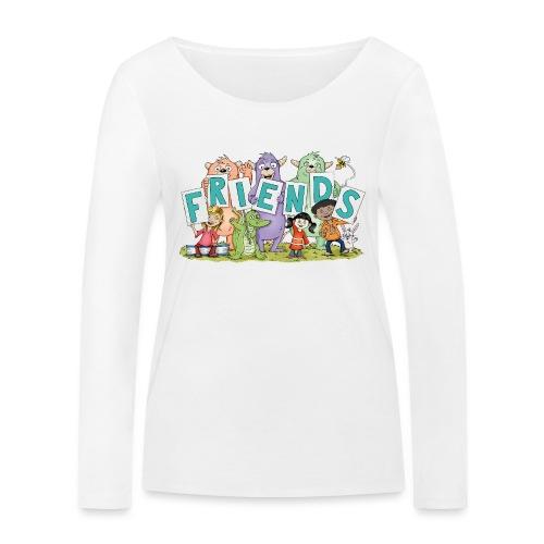 friends - Frauen Bio-Langarmshirt von Stanley & Stella