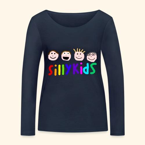 Sillykids Logo - Women's Organic Longsleeve Shirt by Stanley & Stella