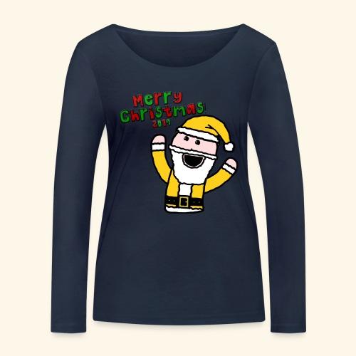 Santa Kid (Christmas 2019) - Women's Organic Longsleeve Shirt by Stanley & Stella
