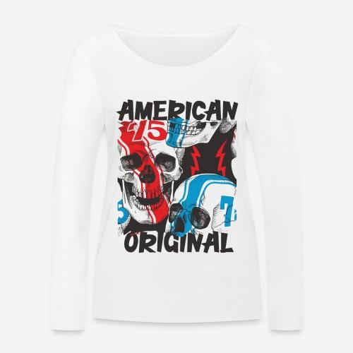 usa american original - Frauen Bio-Langarmshirt von Stanley & Stella