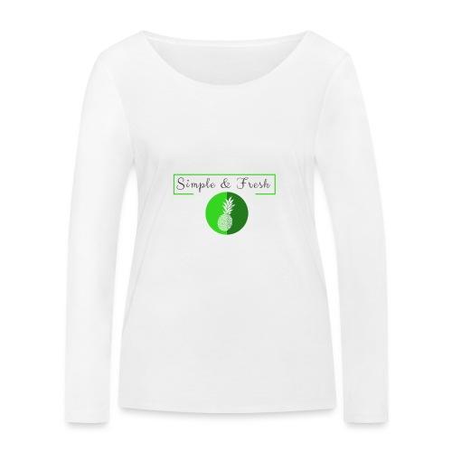 Simple et Fresh - T-shirt manches longues bio Stanley & Stella Femme