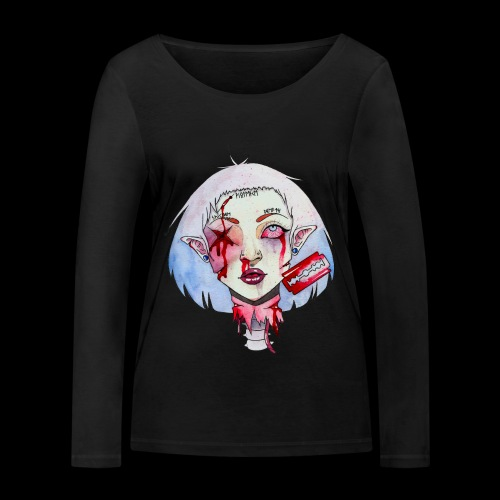 Violence - T-shirt manches longues bio Stanley & Stella Femme