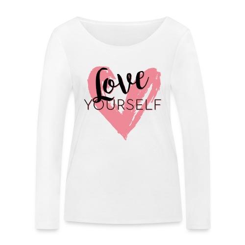 Love Yourself Logo von Pascal Voggenhuber - Frauen Bio-Langarmshirt von Stanley & Stella