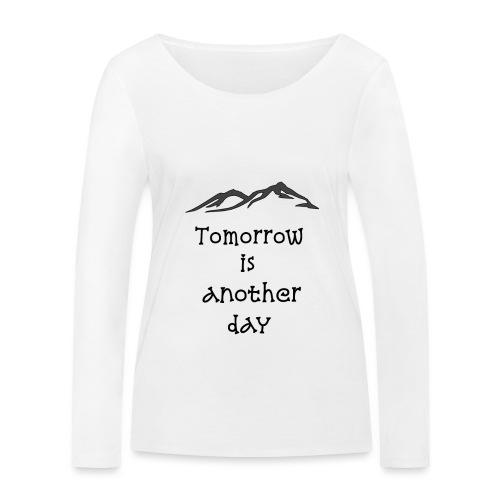 #Domani - Maglietta a manica lunga ecologica da donna di Stanley & Stella