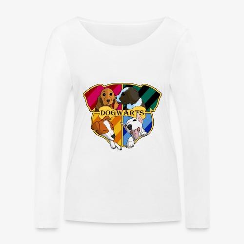 Dogwarts Logo - Women's Organic Longsleeve Shirt by Stanley & Stella