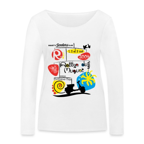 Rallye du Muguet 2009 - T-shirt manches longues bio Stanley & Stella Femme