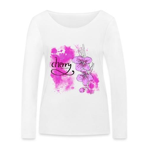 Kirschblüten Zweig - Frauen Bio-Langarmshirt von Stanley & Stella