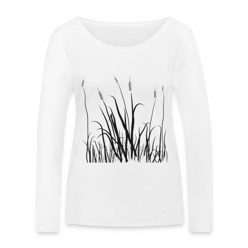 The grass is tall - Maglietta a manica lunga ecologica da donna di Stanley & Stella
