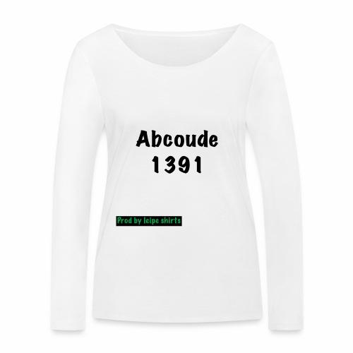 Abcoude post code merk - Vrouwen bio shirt met lange mouwen van Stanley & Stella