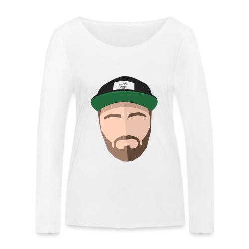 Luyeee FACEUP - Økologisk Stanley & Stella langærmet T-shirt til damer