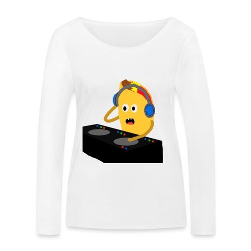 DJ Taco - Økologisk langermet T-skjorte for kvinner fra Stanley & Stella