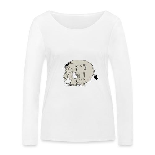 Blygofant - Ekologisk långärmad T-shirt dam från Stanley & Stella