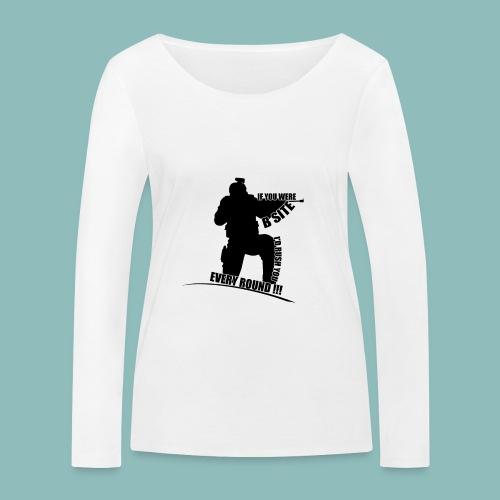 I'd rush you - Black Version - Frauen Bio-Langarmshirt von Stanley & Stella