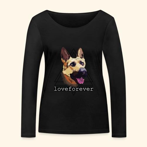 SHEPHERD LOVE FOREVER - Camiseta de manga larga ecológica mujer de Stanley & Stella
