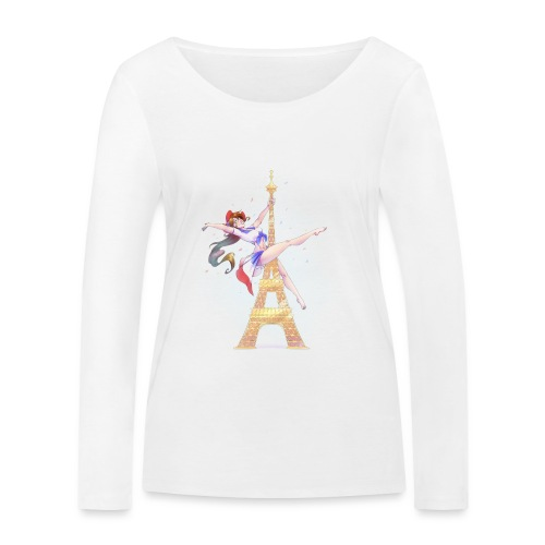 Pole Dance Marianne - Women's Organic Longsleeve Shirt by Stanley & Stella