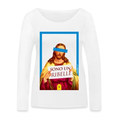 Sono un Ribelle - Maglietta a manica lunga ecologica da donna di Stanley & Stella