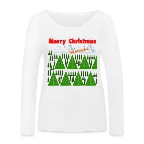 christmas time. Tempo di Natale - Maglietta a manica lunga ecologica da donna di Stanley & Stella