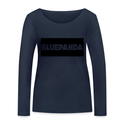 BLUE PANDA - Women's Organic Longsleeve Shirt by Stanley & Stella